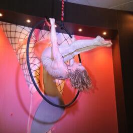 Aerial Hoop Performer for Corporate Parties