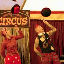 Children's Circus Performers Show