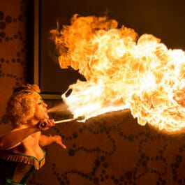 Fire Breathing Act for Brighton and London