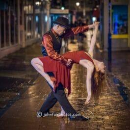 Vintage Dancers performing Tango