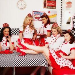 50's Diner Girl Dancers