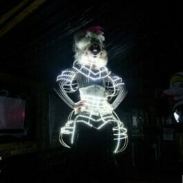 LED Costume Dancer London