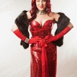 Burlesque Hostess And Singer for Hire in Brighton & London