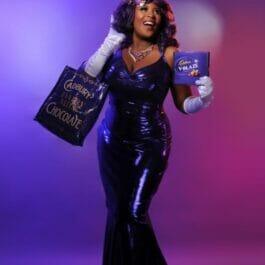 Cadburys Act Show Girl