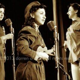 Vintage Wartime Singer London