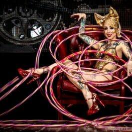 Hula Hooping Circus Act