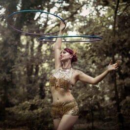 Glamorous Hoop Dancer
