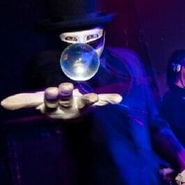 Illusionist at Electric Cabaret Company Show