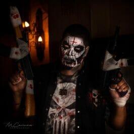 Halloween Pop Up Scare Performer
