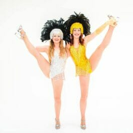 High Kicking Showgirl Dancers for hire in Brighton