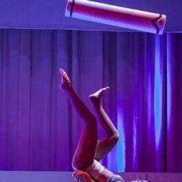 Foot Juggling Cabaret Act