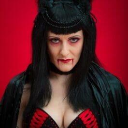 Halloween Performer Vampire Queen Act