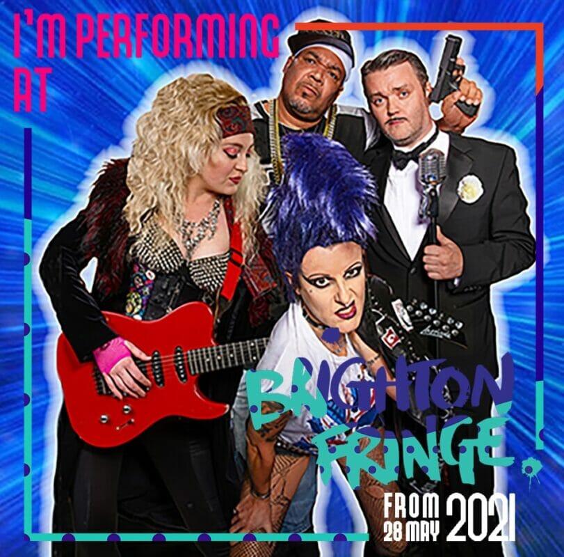 Rockstars and Popstars comedy cabaret performing at Brighton Fringe Festival
